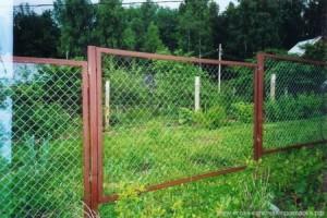 забор из сетки рабица в краснодаре