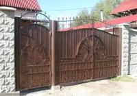 сварные ворота в краснодаре