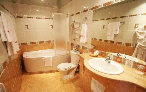 отделка ванной фото