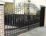 кованные ворота в Краснодаре
