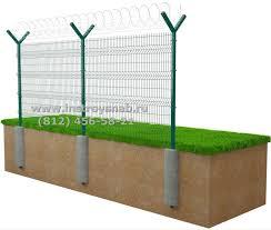 Заборы из решетки не дорого