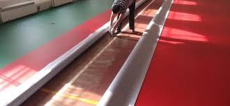Укладка спортивного линолеума Адлер